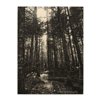 Impression Sur Bois Lumière en bois