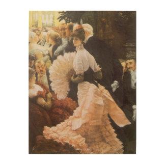 Impression Sur Bois Madame politique par James Tissot, cru victorien