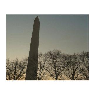 Impression Sur Bois Monument de Washington en photo de voyage de C.C