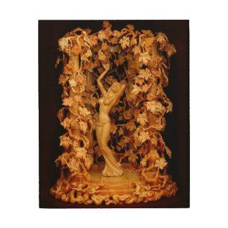 Impression Sur Bois papier peint en bois 2 de soulagement