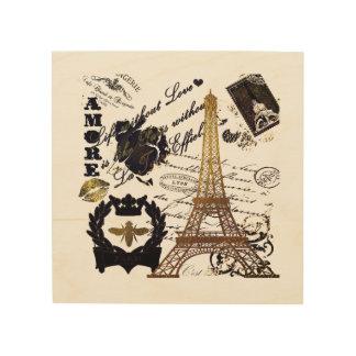 Impression Sur Bois Paris : Visite Eiffel de La