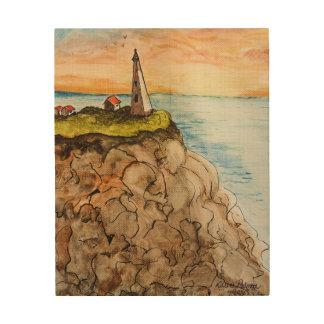 Impression Sur Bois Peinture de phare