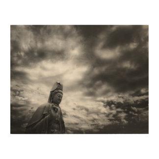 Impression Sur Bois Photographie de beaux-arts de statue de Kuan Yin