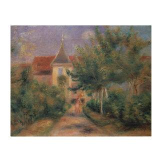 Impression Sur Bois Pierre maison de Renoir | un Renoir chez Essoyes