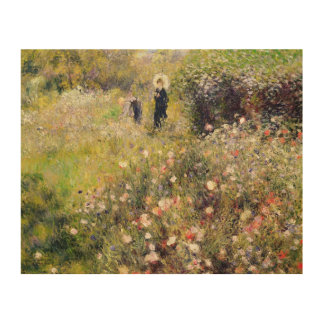 Impression Sur Bois Pierre un paysage d'été de Renoir  