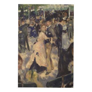 Impression Sur Bois Pierre une La Galette de Renoir   Le Moulin de