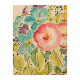 Impression Sur Bois Plaisir II de fleur