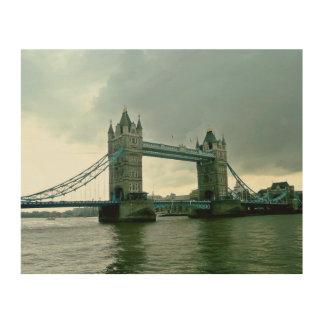 Impression Sur Bois Pont de tour de Londres