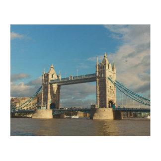 Impression Sur Bois Pont Londres de tour