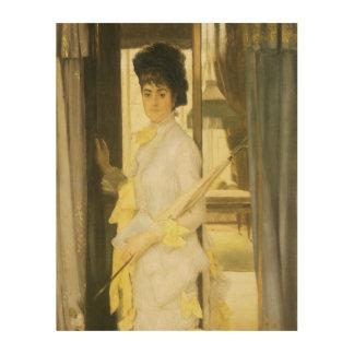 Impression Sur Bois Portrait de Mlle Lloyd par Tissot, beaux-arts