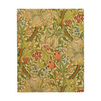 Impression Sur Bois Pre-Raphaelite d'or de cru de lis de William