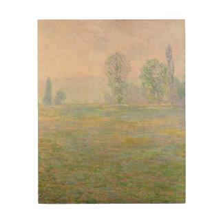 Impression Sur Bois Prés de Claude Monet   en Giverny, 1888