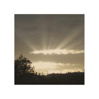 Impression Sur Bois Rayons du Sun - Part2
