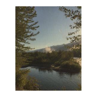 Impression Sur Bois Rivière