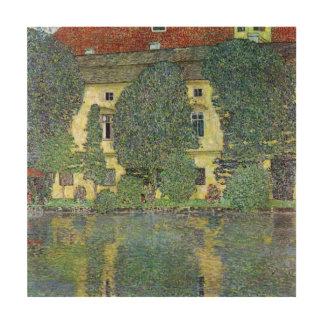 Impression Sur Bois Schloss Kammer sur l'Attersee III par Gustav Klimt