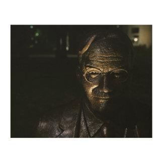 Impression Sur Bois Statue en bronze de James Naismith