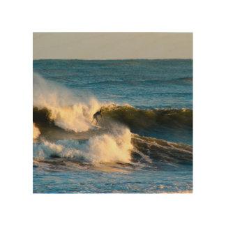 Impression Sur Bois Surf d'hiver