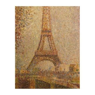 Impression Sur Bois Tour Eiffel par Georges Seurat, beaux-arts
