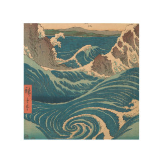 Impression Sur Bois Tourbillon d'Utagawa Hiroshige Naruto
