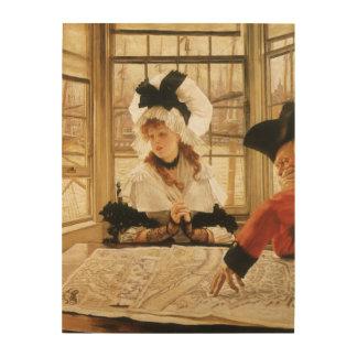 Impression Sur Bois Une histoire pénible par James Tissot, beaux-arts