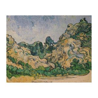 Impression Sur Bois Vincent van Gogh | l'Alpilles, 1889