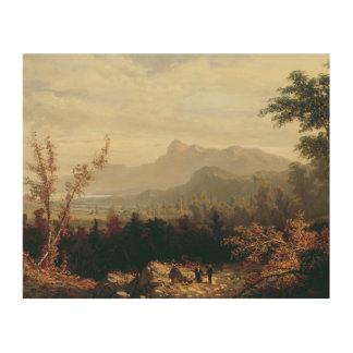 Impression Sur Bois William Louis Sonntag - dans les montagnes