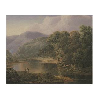 Impression Sur Bois William Louis Sonntag - paysage