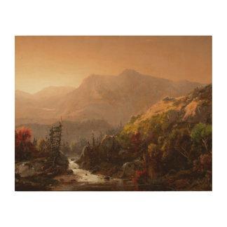 Impression Sur Bois William Louis Sonntag - paysage d'automne