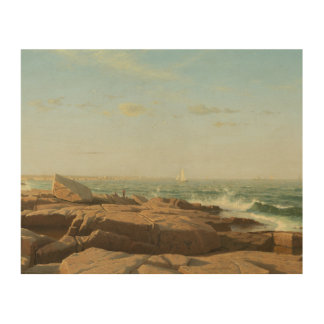 Impression Sur Bois William Stanley Haseltine - baie de Narragansett