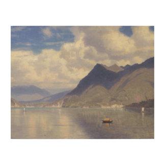 Impression Sur Bois William Stanley Haseltine - Lago Maggiore