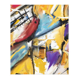 Impression sur toile, Abstract 1510 Extra grand