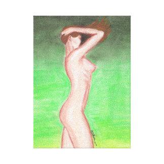 Impression sur Toile (pastel gras) - 20x28x1,91cm