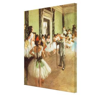 Impressionisme d'Edgar Degas Toile