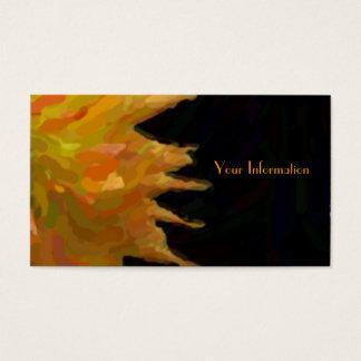 Impressionist Jennie op Zwarte Visitekaartjes