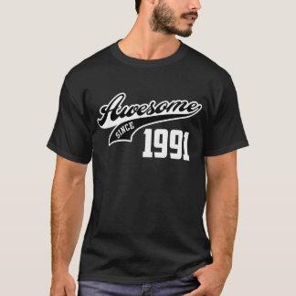 Impressionnant depuis 1991 t-shirt