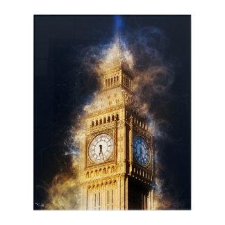Impressions En Acrylique Big Ben, palais de Westminster, Londres Angleterre