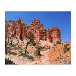 Impressions En Acrylique Canyon de Bryce, boucle de conte de fées