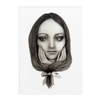 Impressions En Acrylique Comme une poupée