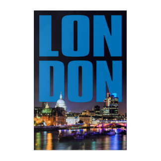 IMPRESSIONS EN ACRYLIQUE LONDRES