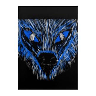 Impressions En Acrylique Monsieur Wolf