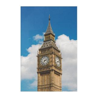 Impressions En Acrylique Palais de Westminster de tour de Big Ben, Londres,