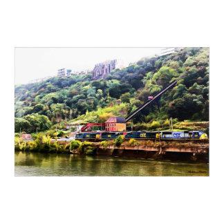 Impressions En Acrylique Pittsburgh sur l'acrylique