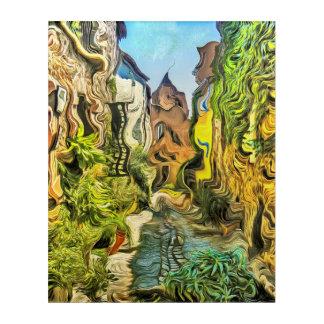 Impressions En Acrylique Vieux Village de Grimaud, France