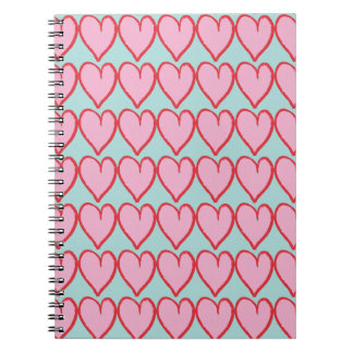 In love with my notebook carnets à spirale