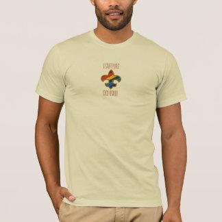 Inclusion de Fleur De Lis Rainbow T-shirt