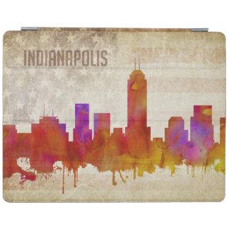 Indianapolis, DANS l'horizon de ville d'aquarelle Protection iPad
