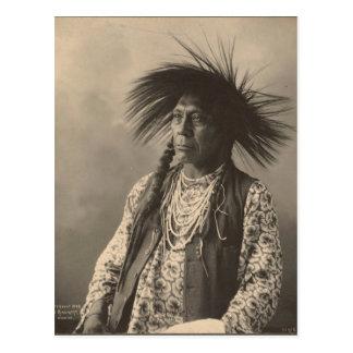 Indien vintage : Antoine Moise, à tête plate - Carte Postale