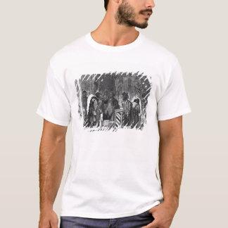 Indiens commerçant à une ville de frontière t-shirt