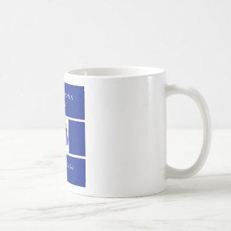 Indigo Ruban-Dans l'indigo Mug