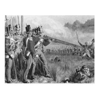 Infanterie britannique carte postale